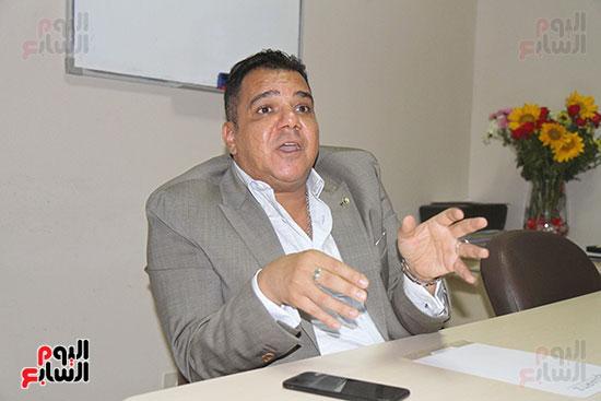 محمد زاهر رئيس لجنة التعدين يتحدث لـاليوم السابع (8)