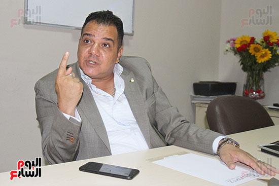 محمد زاهر رئيس لجنة التعدين يتحدث لـاليوم السابع (1)