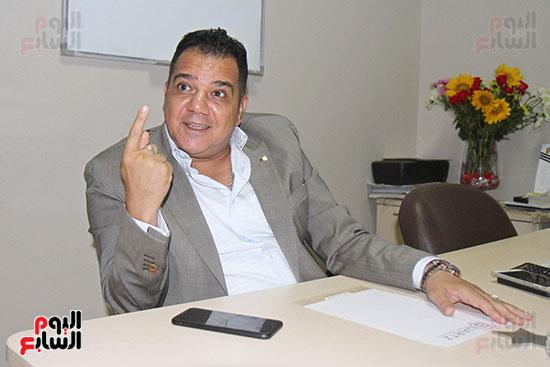 محمد زاهر رئيس لجنة التعدين يتحدث لـاليوم السابع (2)