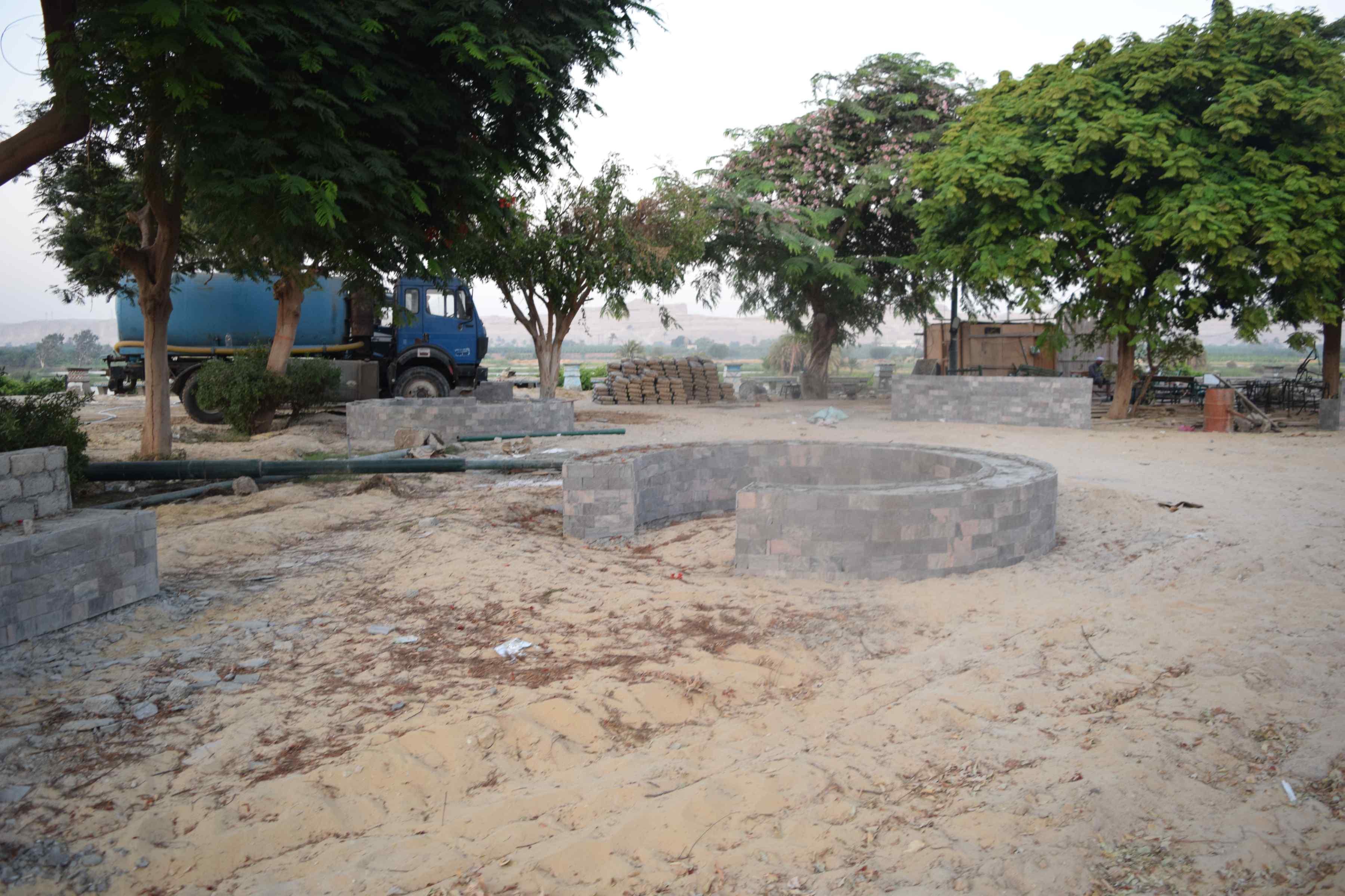 كورنيش النيل بالمنيا