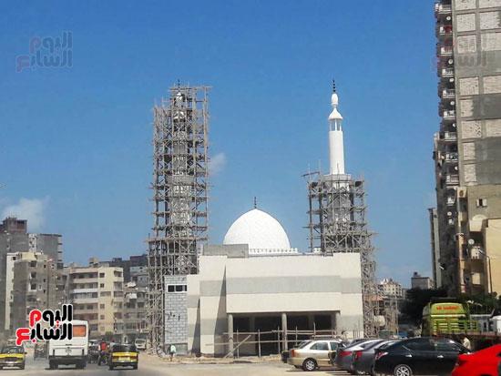 احد-المساجد-الجديدة-تحت-الانشاء