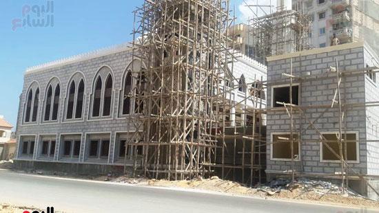 المسجد-تحت-الانشاء