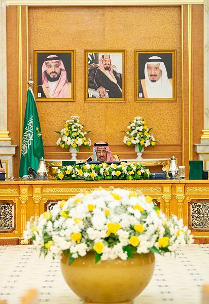 الملك سلمان يرأس اجتماع مجلس الوزراء