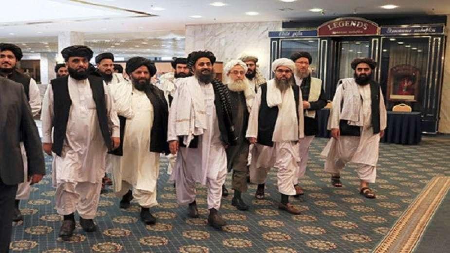 وفد طالبان المشارك فى محادثات السلام