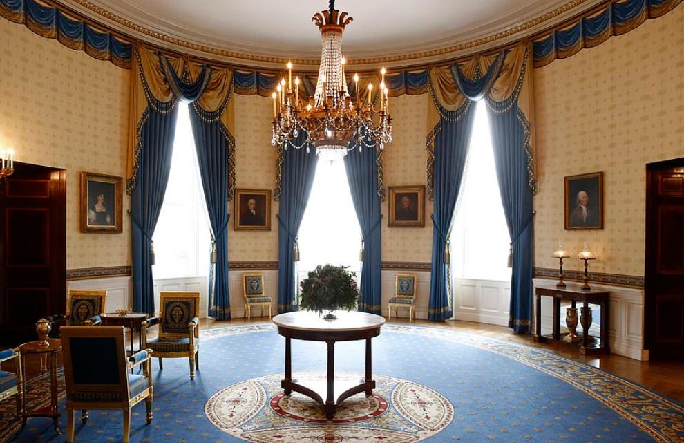 الغرفة الزرقاء بعد التجديد