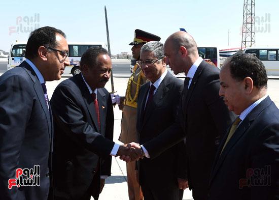 عبدالله حمدوك رئيس الوزراء السودانى
