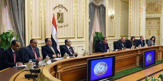 جانب من جلسه المباحثات المصريه السودانيه