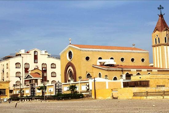 كنيسة-العذراء-مريم-داخل-مقر-شركة-الفوسفات