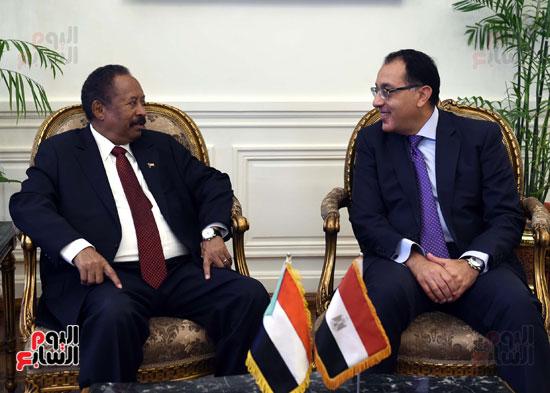مباحثات مصريه سودانيه