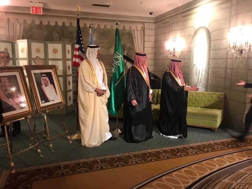 احتفالات السفارة بأمريكا بالعيد الوطنى