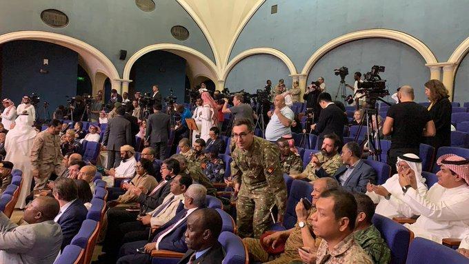 مؤتمر وزارة الدفاع السعوديه (2)