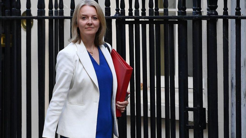 وزيرة التجارة الدولية البريطانية ليز تروس