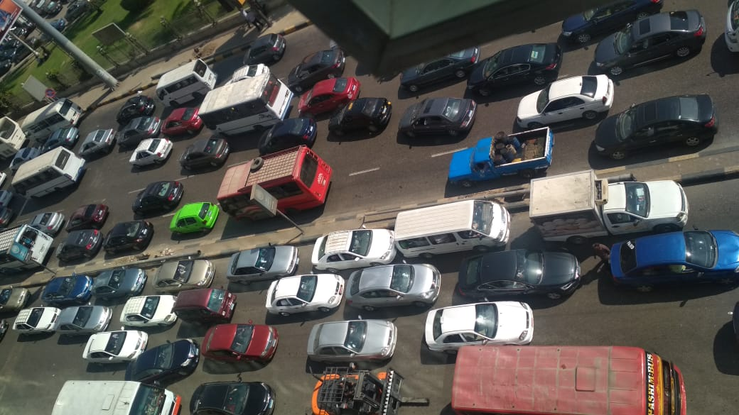 تكدس السيارات (2)