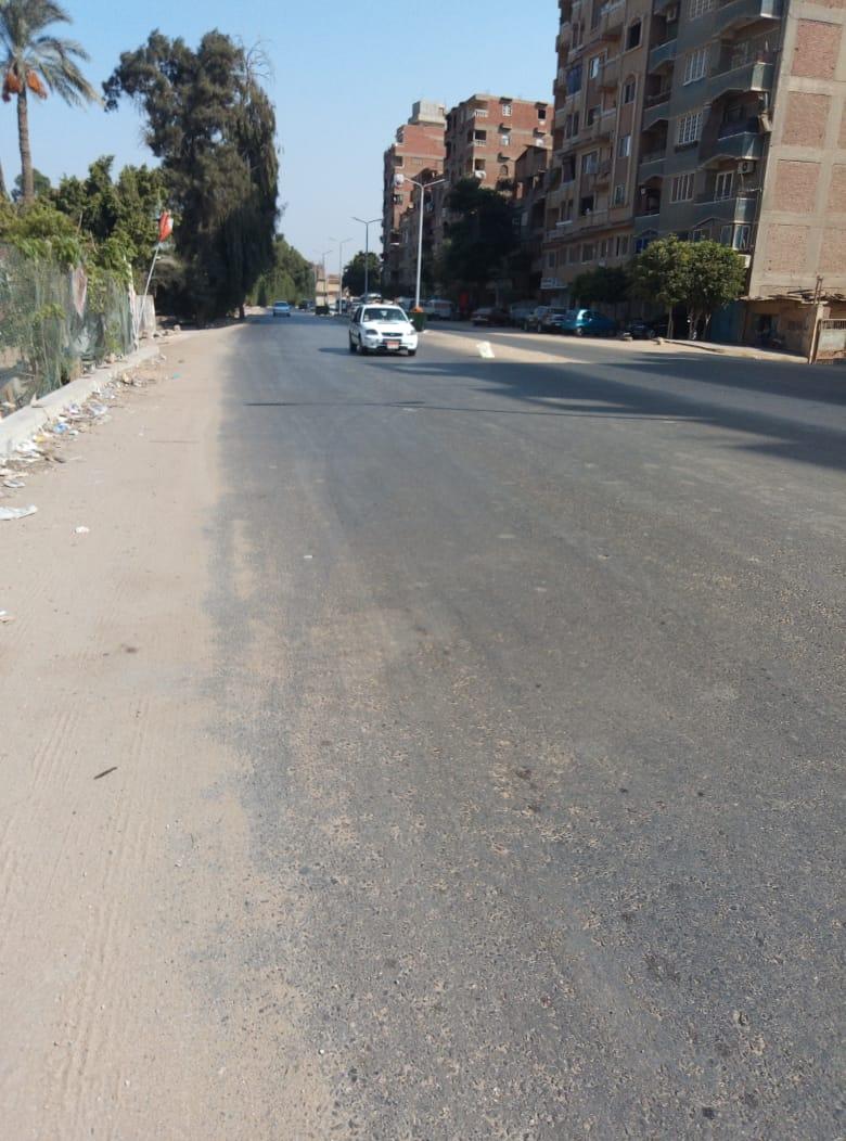 طريق قرية طناش بالوراق يحتاج لـمطب لإنقاذ الأهالى (2)