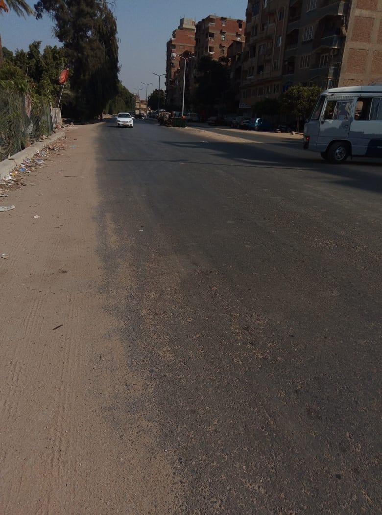 طريق قرية طناش بالوراق يحتاج لـمطب لإنقاذ الأهالى (4)