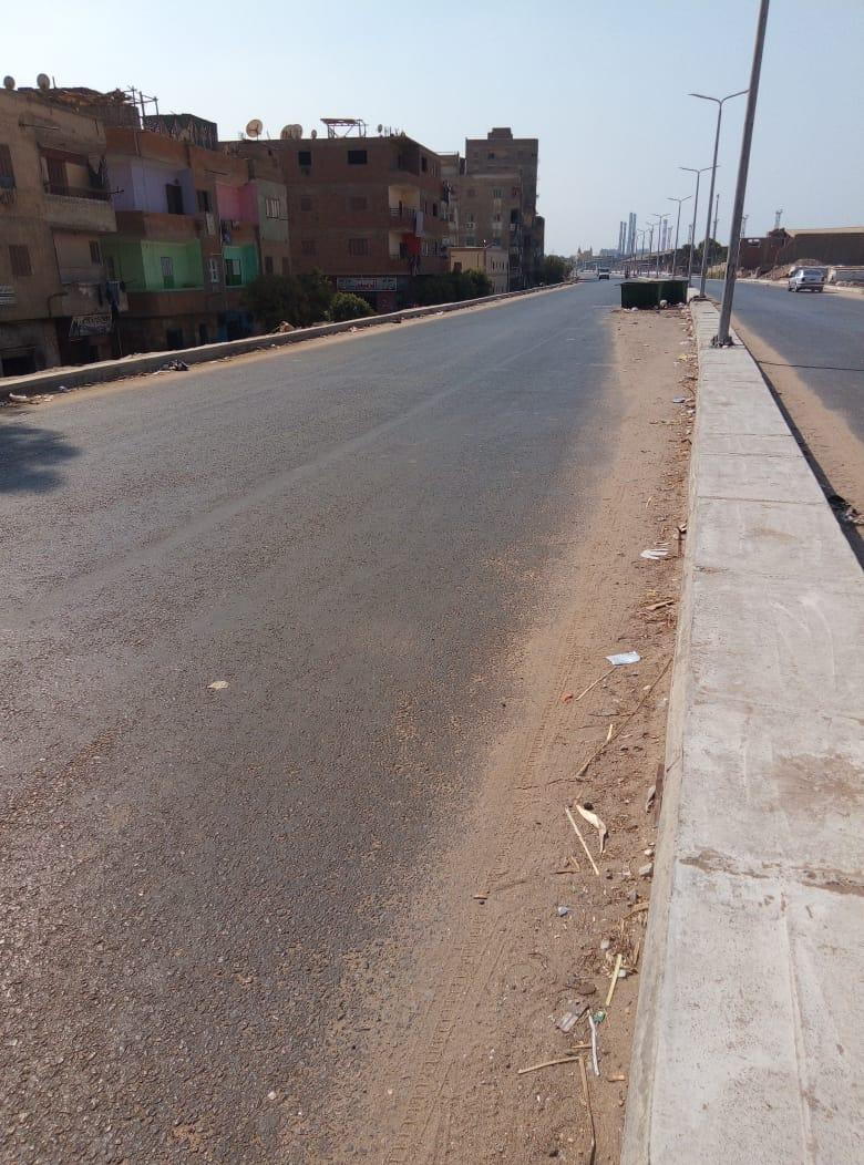 طريق قرية طناش بالوراق يحتاج لـمطب لإنقاذ الأهالى (3)