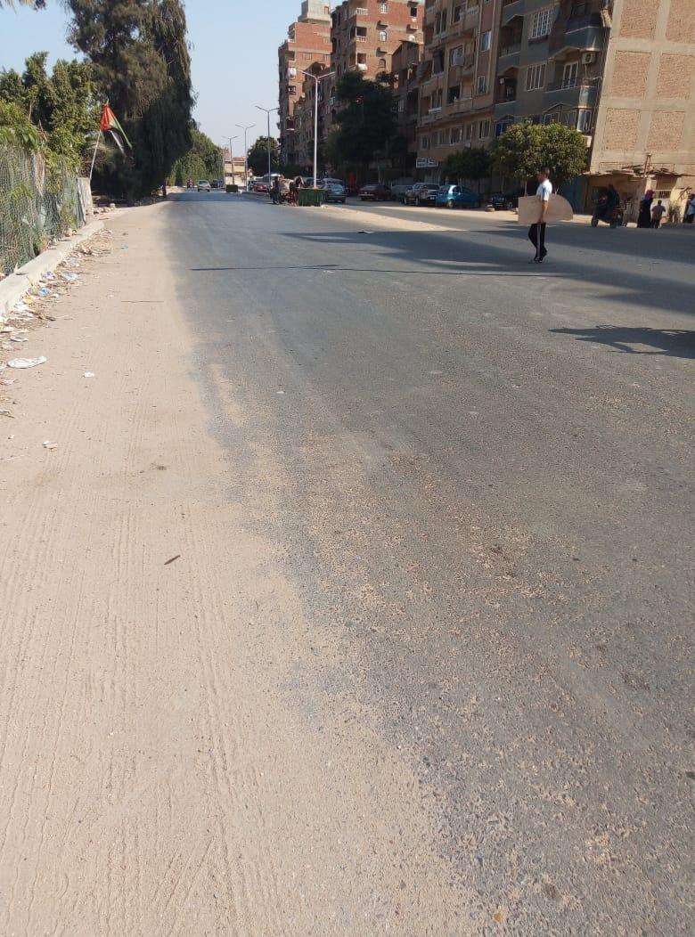 طريق قرية طناش بالوراق يحتاج لـمطب لإنقاذ الأهالى (5)