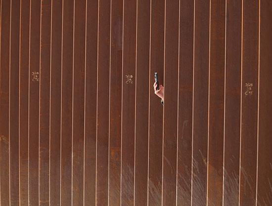 السياج الحدودى