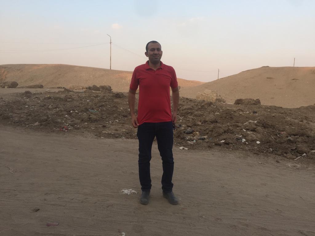 محرر اليوم السابع بالعزيزية