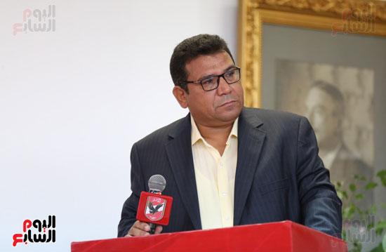 جمال جبر مدير المركز الإعلامى