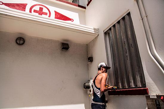 مراكز الإنقاذ على أهبة الاستعداد