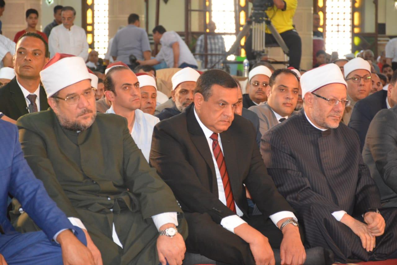 صلاة الجمعة بمسجد ناصر بمدينة دمنهور (1)