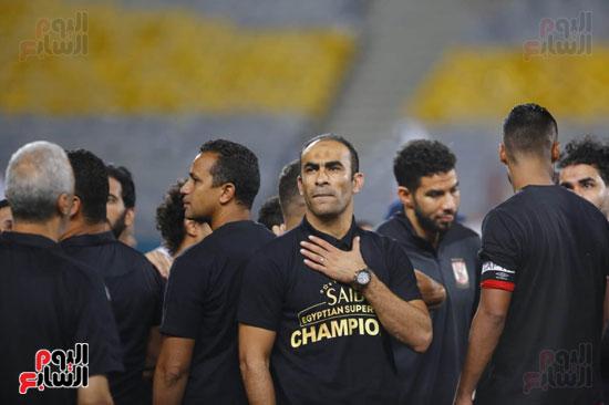 سيد عبد الحفيظ بعد الفوز بالسوبر