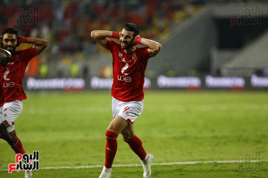 لاعبو الأهلى يحتفلون على طريقة مؤمن زكريا
