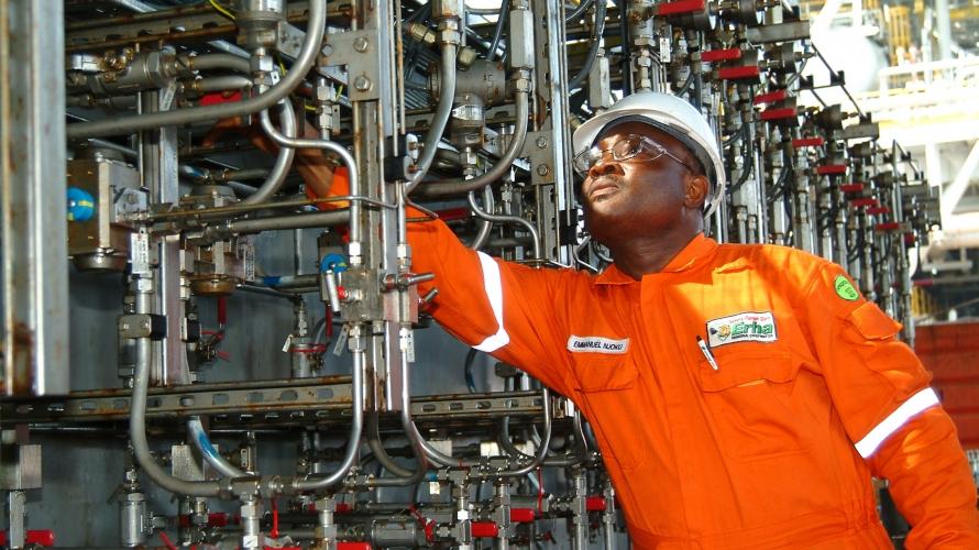 النفط فى نيجيريا