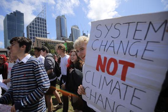 جانب من المظاهرات فى أستراليا