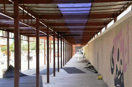 جامعة-قناة-السويس-تستعد-لبدء-الدراسة-بتجديد-وصيانة-قاعات-المحاضرات-وإنشاء-مسار-للدراجات-وبوابات-جديدة-(1)