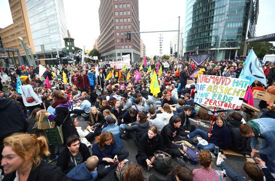 مظاهرات برلين