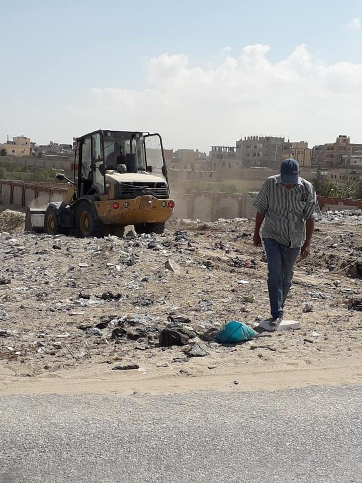 اعمال رفع اكوام القمامة