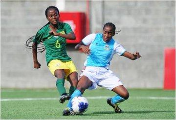 سيدات جنوب افريقيا ضد سيشيل (2)