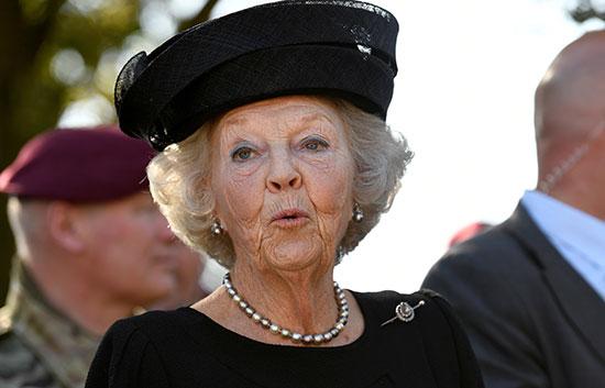 الأميرة الهولندية بياتريكس
