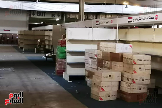 تجهيزات معرض عمان الدولى للكتاب (1)