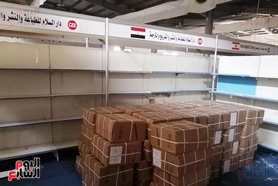 تجهيزات معرض عمان الدولى للكتاب (9)