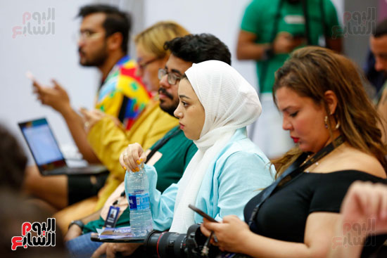 ندوة أصوات اللاجئين فى السينما بمهرجان الجونة (14)
