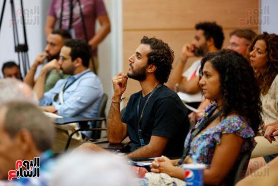ندوة أصوات اللاجئين فى السينما بمهرجان الجونة (12)