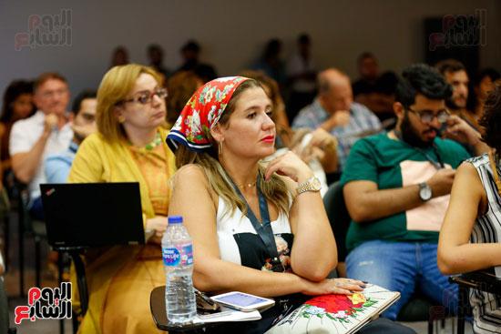 ندوة أصوات اللاجئين فى السينما بمهرجان الجونة (8)