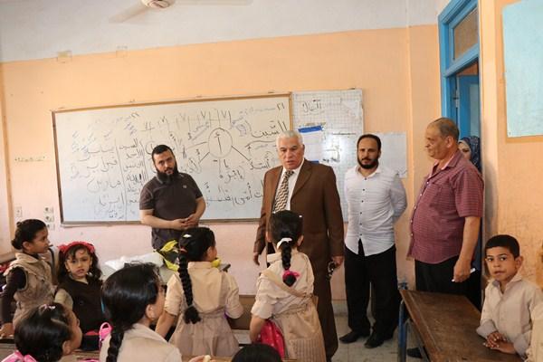 7 انتظام مدارس محافظة البحيرة