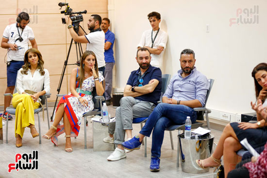 ندوة أصوات اللاجئين فى السينما بمهرجان الجونة (2)