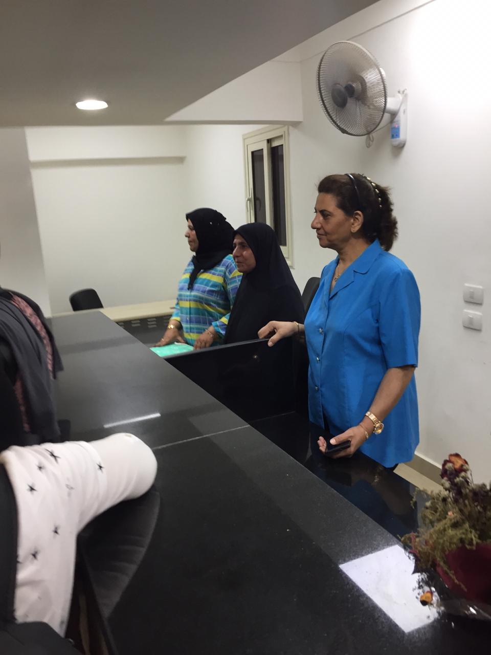 افتتاح مشروع تطوير مكاتب التموين بالجيزة (2)