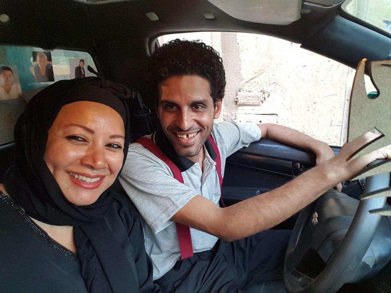 انتصار وحمدي المرغني