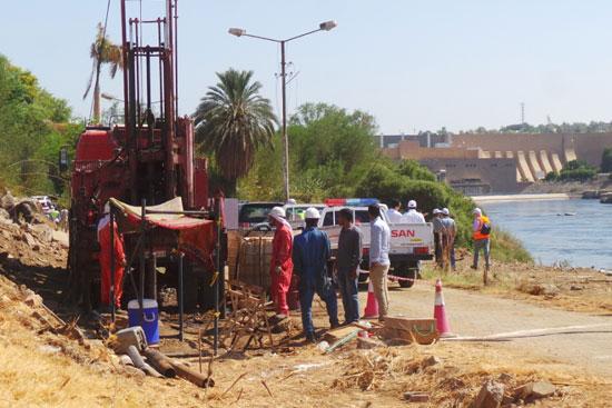 مشروع كوبرى بديل الخزان بأسوان (1)