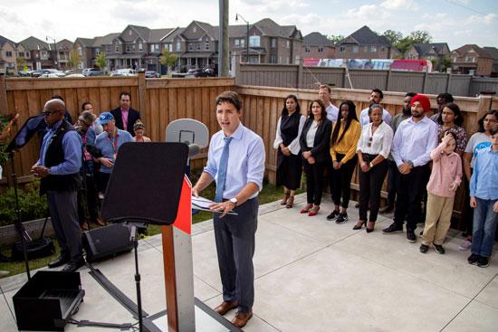 جاستن ترودو رئيس الوزراء الكندى