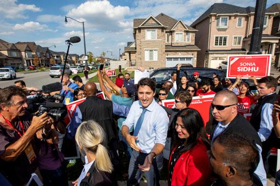 كلمة رئيس الوزراء الكندى جاستن ترودو