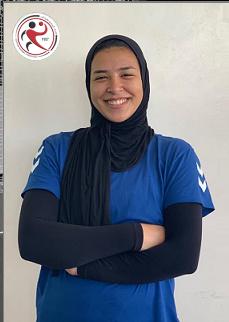 نورا محمود لاعبة الطيران