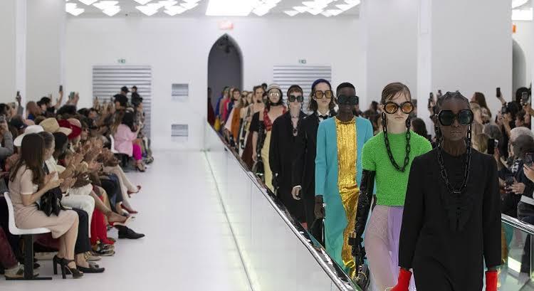عرض أزياء جوتشى (1)