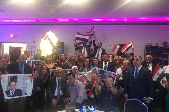 الجالية المصرية بالولايات المتحدة الامريكية (3)